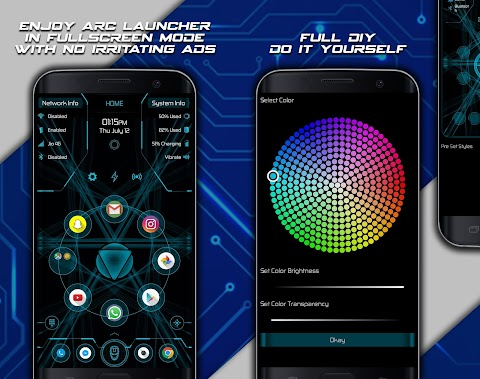 Arc Launcher Pro HD Themes,Wallpapers,Booster v9.3 [Patched]