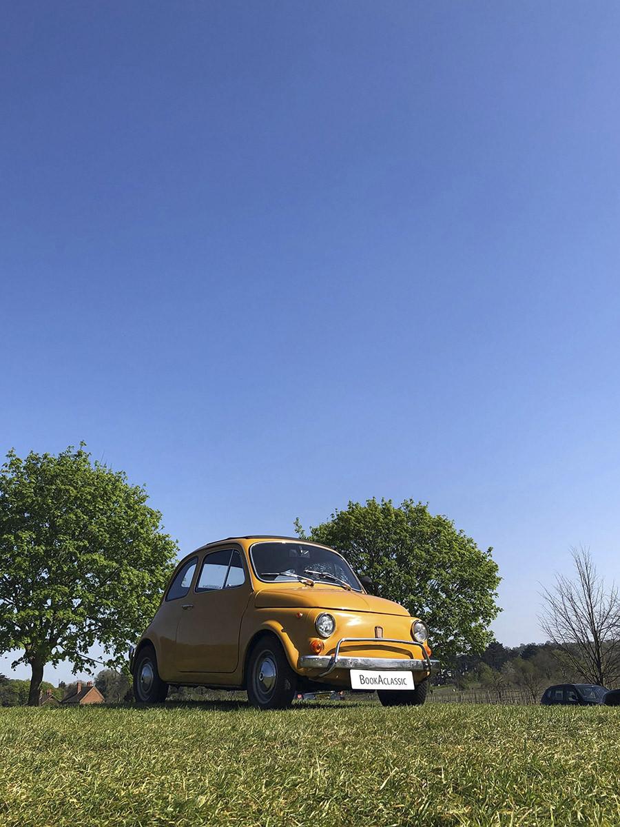 Fiat 500 Hire London
