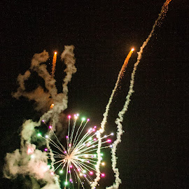 untitled by Mary Phelps - Public Holidays July 4th ( fireworks, braves, atlanta, canon )
