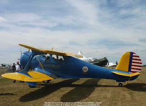 Photo: Schaffen Fly in 2013 08 17 Beech YC-43A Staggerwing N295BSO