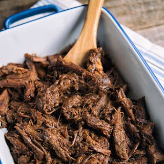 Slow Cooker Pulled Beef.