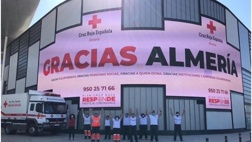 El Centro Comercial Torrecárdenas pone a disposición de Cruz Roja sus instalaciones este mes.