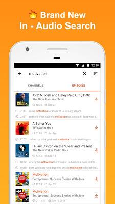 CastBox: Free Podcast Player, Radio & Audio Books - screenshot