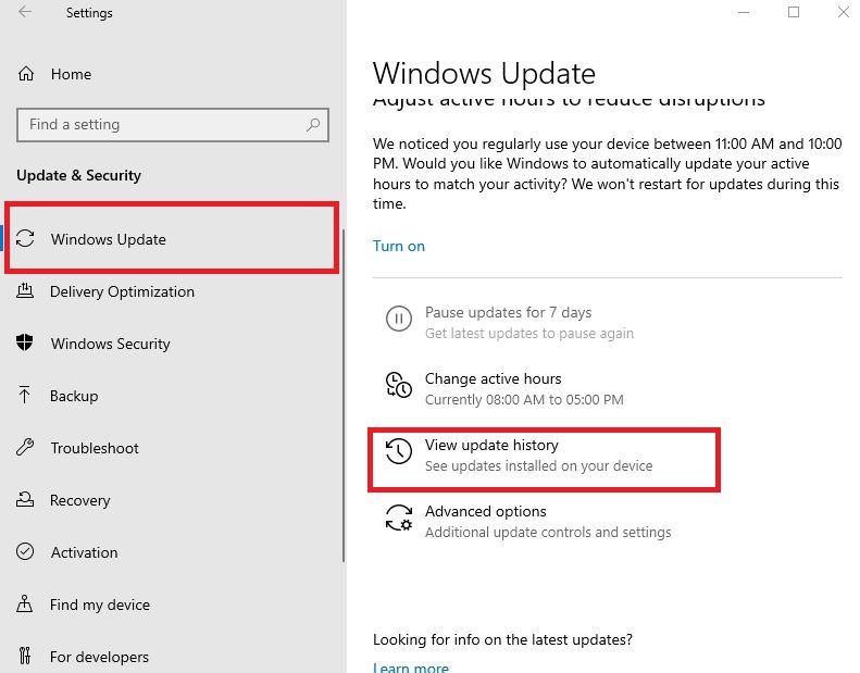 Disable the Windows 10 update