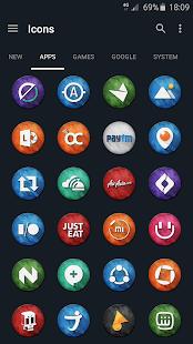 Marvak - Icon Pack - screenshot thumbnail