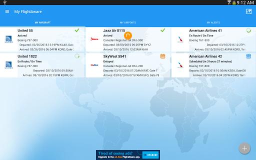FlightAware Flight Tracker 5.5.1 screenshots 9