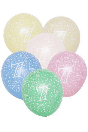 Sifferballonger, nr 7