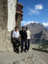 Photo: ME,ASAD,ZAMAR AT BALTIT FORT