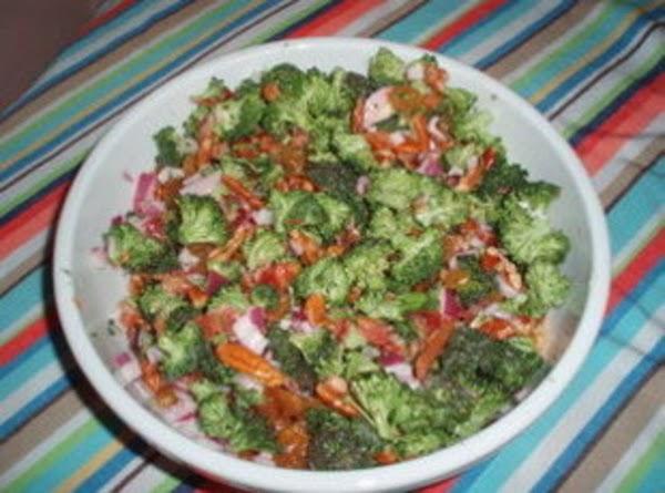 Broccoli Raisin Salad Recipe