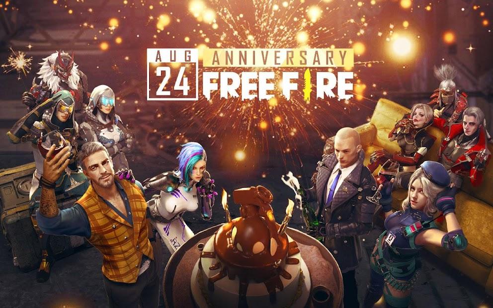 Garena Free Fire - Anniversary Android App Screenshot