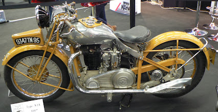 Photo: MGC type N3A (500cc) de 1935