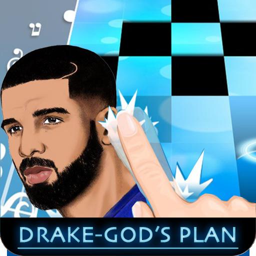 Drake - Gods Plan Piano Tiles 2 4.0