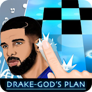 Piano Games Drake - Gods Plan Piano Tiles 2
