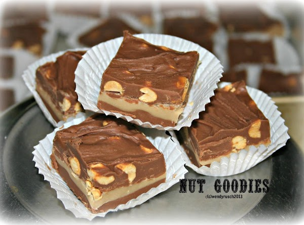 Awesome Nut Goodie Bars Or Candy Recipe