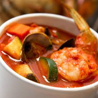 Cioppino Soup.