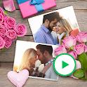 Collage+ picmix, slideshow with music, album maker icon