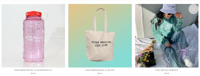 Asian American Girl Club.