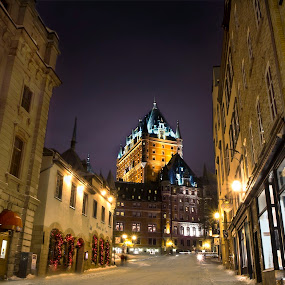 Streets of Quebec City by Maggie B - City,  Street & Park  Historic Districts