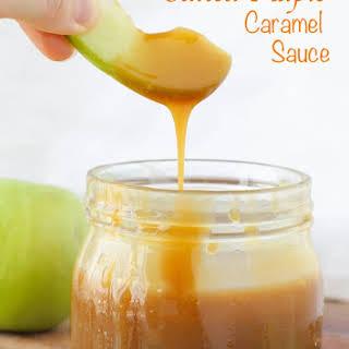 Salted Maple Caramel Sauce.