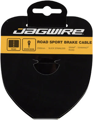 Jagwire Sport Brake SRAM/Shimano 1.5x2000mm Slick Stainless Road Cable alternate image 0