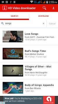 HD Video downloader free