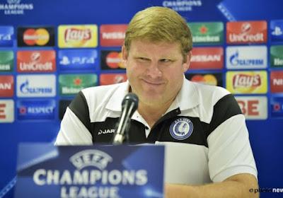 Le coach de Gand est ambitieux en C1