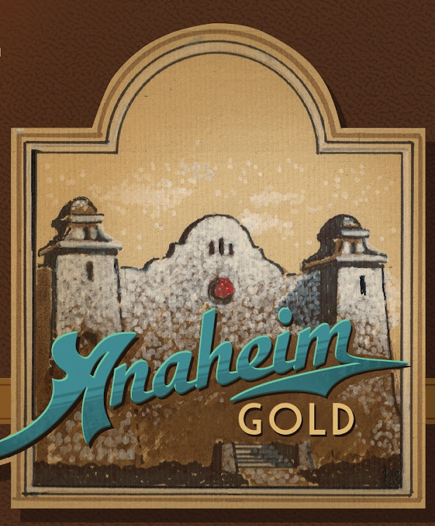 Logo of Anaheim Gold