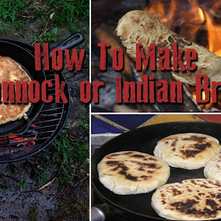 How To Make Bannock Or Indian Bread, The Food Of Mountain Men.