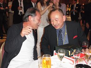 Photo: ボスと別部先生