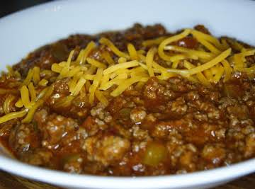 The Great White West Canadian Chili