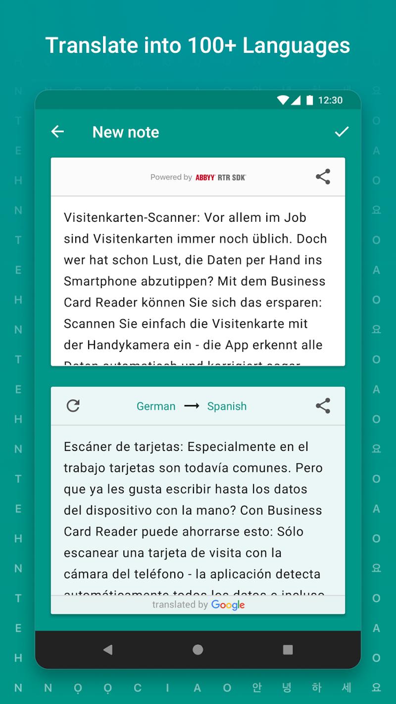 TextGrabber – image to text: OCR & translate photo Screenshot 4