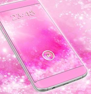Pink Glitter Téma pro Locker - náhled
