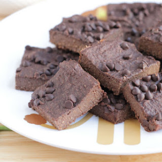 Healthy Fudge Brownies.