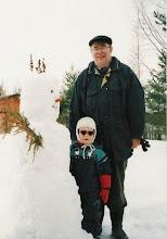 Photo: 19970325 Lumiukko - Ville, Vaari