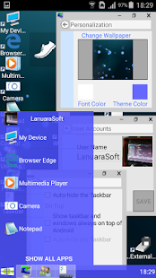 Windroid Launcher (Free)- screenshot thumbnail