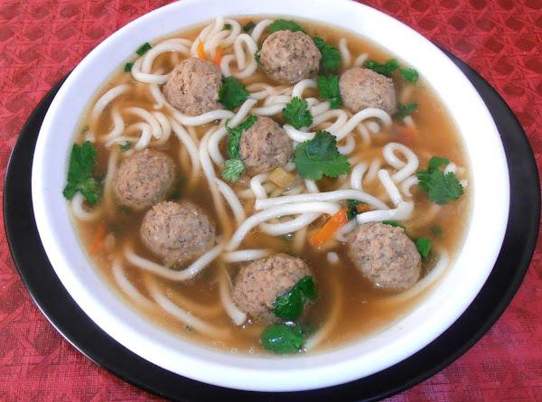 *mah*  Meatball Udon Nooble Soup Recipe
