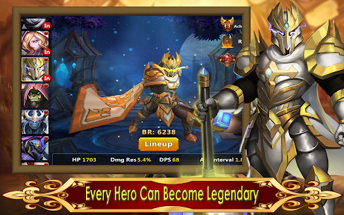 Hack Game Hero Legion Online - 3D Real Time Tactical MMO RPG Miễn Phí