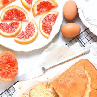 Gluten-free Blood Orange Yogurt Cake.