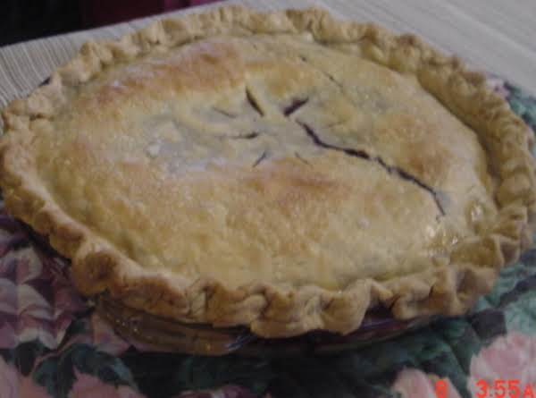 Just A Big Ole Fat Blueberry Pie Recipe