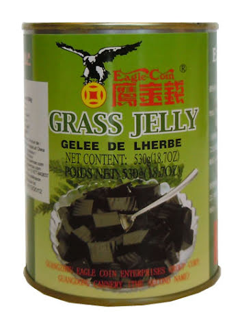 Grass Jelly 530 g Eagle Coin