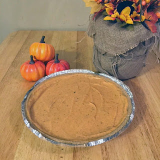 Skinny No Bake Pumpkin Pie