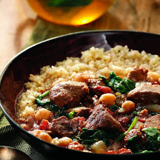 Middle Eastern Lamb Stew.