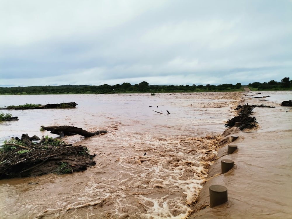 Rivers still overflowing in Kruger National Park due to tropical storm