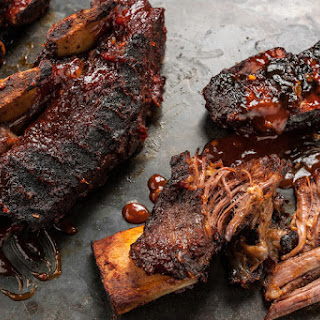 Smoky-Sweet BBQ Beef Short Ribs.