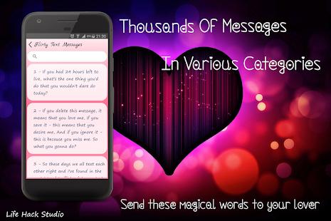 Flirty Texts - náhled