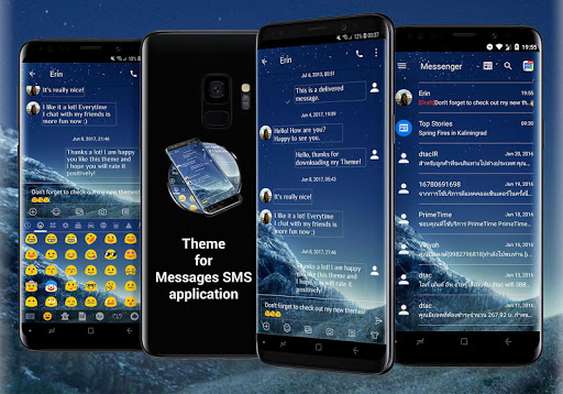 SMS Messages Theme for Galaxy S9 - Apps on Google Play
