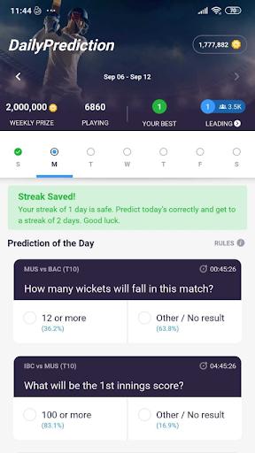 CricPlay - Play Fantasy Cricket & Make Predictions apktram screenshots 6