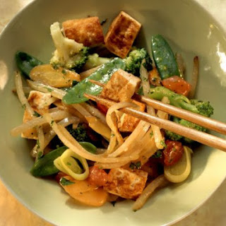 Vegan Asian Stir-fry.