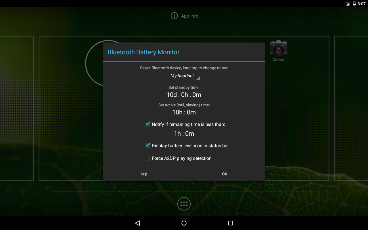 Battery Monitoring App User Interface : Bluetooth battery monitor free android apps on google play
