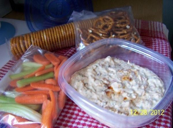 Cut up some veggies an bagg`em, bag up some pretzels and grab a sleeve...